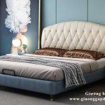 Giường bọc nệm cao cấp đẹp mẫu mới 2021 AAD