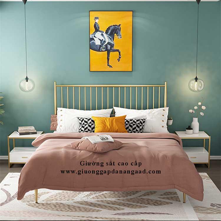 giường khung kim loại 1m2 đẹp