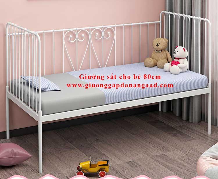 Giường sắt cho bé 80cm