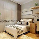 Giường thông minh cho phòng ngủ nhỏ 10m2