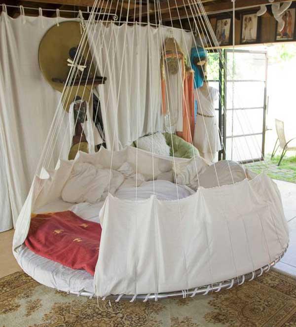 Giường treo tròn