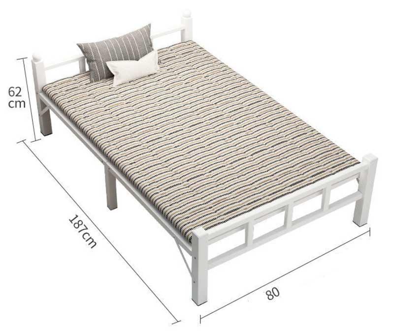Giường sắt đơn 80cm