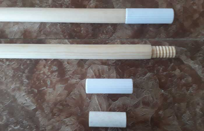 Cách nối 2 thanh gỗ tròn