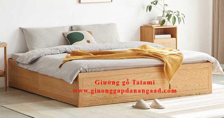 giường gỗ tatami