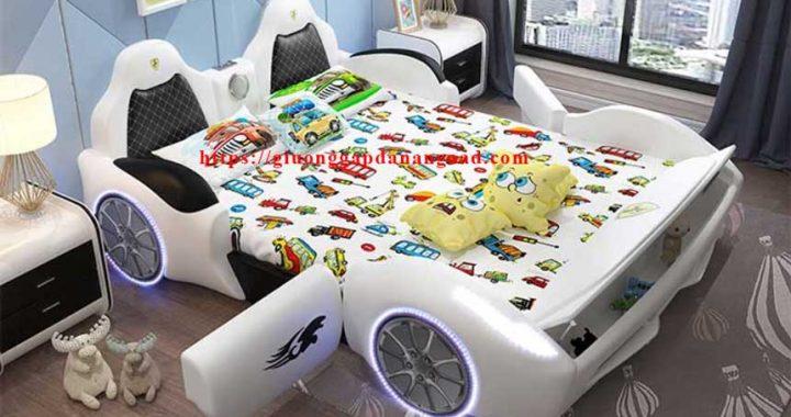 giường ô tô cho bé trai