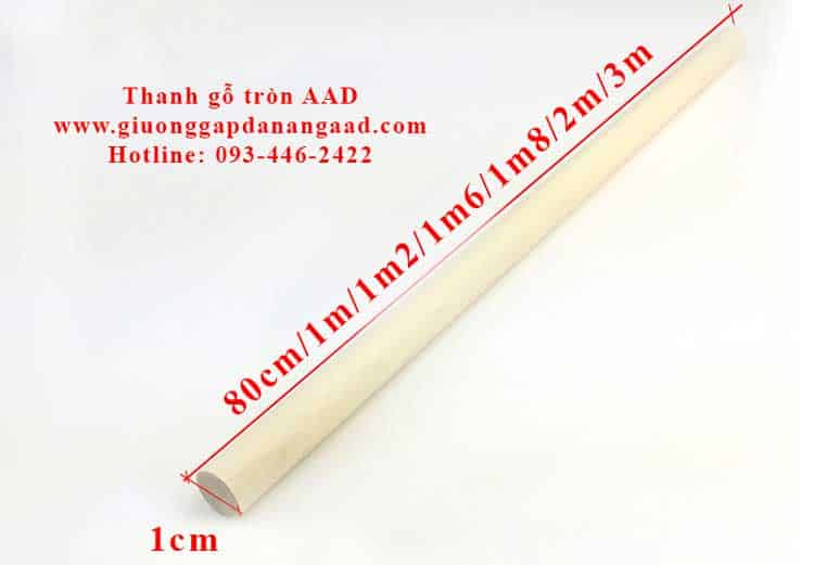 thanh gỗ tròn đường kính 1cm