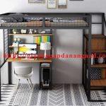 Giường gác xép sắt đẹp giá rẻ ở Hà Nội