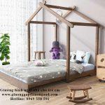 Giường ngủ hình ngôi nhà đẹp giá rẻ