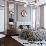 Giường ngủ tân cổ điển cao cấp đẹp gỗ tự nhiên