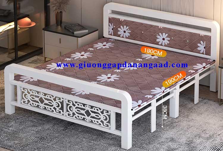 giường sắt xếp 1m8x2m