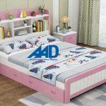 10 Mẫu giường ngủ cho bé gái 3, 5, 6, 7, 8, 9 tuổi đẹp