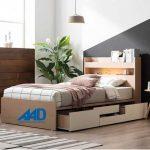 10 Mẫu giường ngủ Hàn Quốc đẹp cao cấp 2021