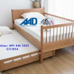 Giường kéo 2 tầng đẹp miễn phí lắp đặt Hà Nội 2021